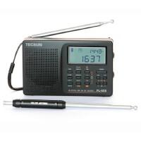 Tecsun/德生PL-606全波段收音机数显半导体 校园广播四六级考试收音机