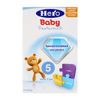 【当当海外购】荷兰Hero Baby本土美素 婴幼儿奶粉5段(2周岁以上宝宝)700g  日期新鲜