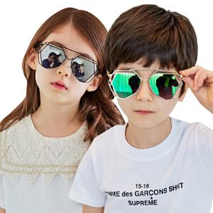 韩国KK树儿童太阳镜男童女童个性舒适墨镜防紫外线眼镜潮