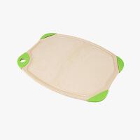 当当优品 壳氏唯稻壳环保双面两用抗菌切菜板砧板防滑案板 (小)