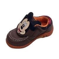 鞋柜SHOEBOX儿童新款卡通米奇舒适防滑耐磨男童PU皮运动鞋男孩鞋
