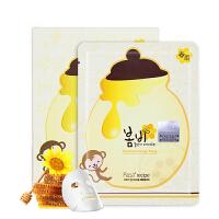 【海外购】韩国papa recipe春雨蜜罐面膜滋润保湿补水蜂蜜蜂胶收缩毛孔肌肤海外直邮