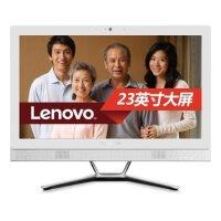 联想(Lenovo)IdeaCentre C560 23英寸一体机电脑 G1840T 4G内存 1T硬盘 DVDRW 2G独显 Win10白色官方标配
