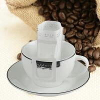 DIY必备 进口挂耳式咖啡滤纸便携滴漏式滤泡网咖啡粉过滤袋50片枚