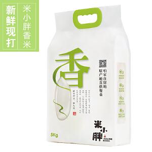 【吉林梅河口馆】米小胖香米5kg 东北大米 新米 稻花香 新鲜现打 非转基因