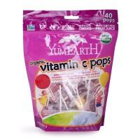 美国Yummy Earth牙米滋天然VC棒棒糖多种水果味 宝宝零食 40支+
