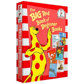 华研原版 苏斯入门书系列 英文原版绘本 The Big Red Book of Beginner B