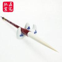 【玉竹明珠 】张苏宣笔 细广丰羊毫 纯手工制作 行书草书专用毛笔