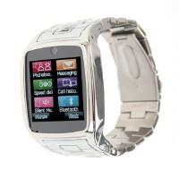 半智能全钢防水超薄腕表手机TW810b+电容手表QQ/JAVA手机