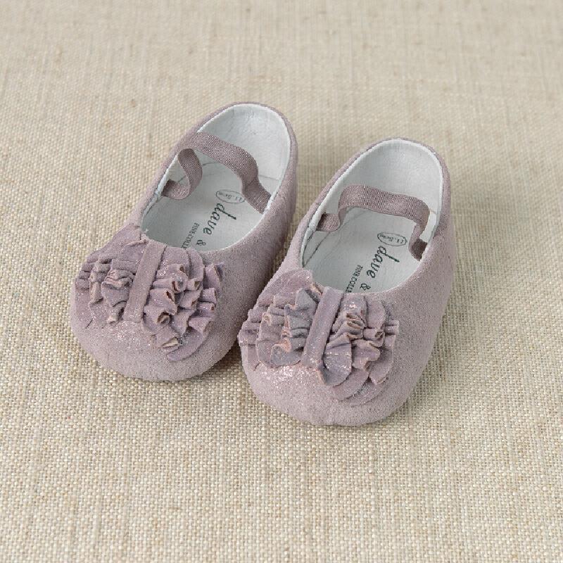 davebella戴维贝拉2015女宝宝春季新款可爱宝宝婴儿舞蹈鞋
