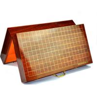 一体式折叠围棋礼盒便携手提礼品箱烤漆收藏围棋实木包装盒