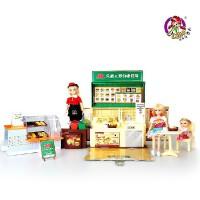 乐吉儿 芭比娃娃 洋布芭比娃娃套装礼盒可儿女孩过家家玩具 六一儿童节佳品H29C