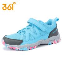 【满200减100】361度童鞋女童户外鞋运动鞋儿童春秋新款中大童登山鞋学生运动鞋