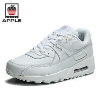 苹果APPLE情侣网面气垫男鞋运动鞋跑鞋大码休闲鞋MAX9026