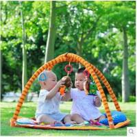 全店满99包邮!拉拉布书猴子捞月游戏毯健身架宝宝益智爬行垫婴儿玩具0-1岁