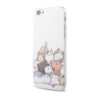 【全国包邮】hidog 苹果iPhone6手机壳可爱卡通6plus保护套硅胶浮雕5s外壳防摔