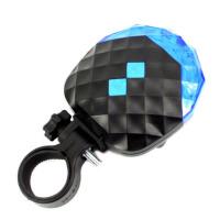 罗门骑行5LED自行车钻石激光尾灯装备配件 满天星安全警灯