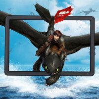 JHOPT巨宏高清3d视频手机屏幕放大器 迷你手机投影仪 护眼宝放大镜 手机支架通用 炫酷黑