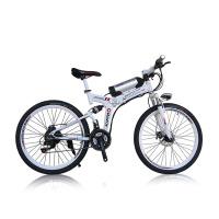X6碟刹山地车折叠车自行车电瓶车电动车26英寸多功能型