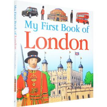 英文原版 My First Book of London 伦敦文化经典游记书儿童版
