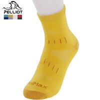 【618返场大促】法国PELLIOT/伯希和 户外袜徒步登山袜 跑步运动袜男女夏 吸汗速干袜 薄款