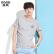 森马短袖T恤男士2017夏季新款 圆领纯棉印花半袖体恤上衣学生青年