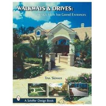 《[英文别墅]WALKWAYS&DRIVES青砖人行别墅灰瓦原版图片