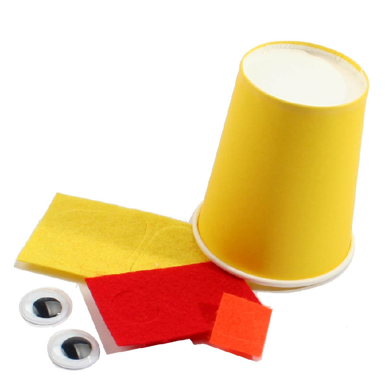 手工diy儿童手工制作-彩色手工diy纸杯