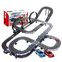 音速风暴 轨道赛车 电动遥控轨道汽车 儿童玩具套装 13.8米双人电动TR-06