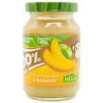 【当当自营】HELLO  捷克原装进口 不添加糖 香蕉苹果泥 190g  6个月以上适用