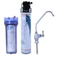 爱惠浦净水器H104家用厨房自来水过滤直饮机