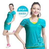 包邮新款YONEX尤尼克斯羽毛球服女运动短上衣袖裙裤短裙单件销售CS2151