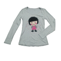 翎影时尚 卡通可爱卫衣长袖T恤