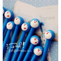 禾硕龙猫卡通动漫大白叮当猫可可王国中性笔0.5mm黑色水笔签字笔  学生奖品 多款式  10支价