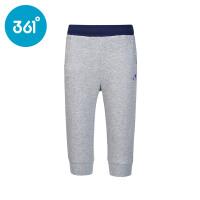 361度童装2017夏季新款女童纯棉七分裤正品儿童运动短裤