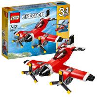 乐高创意百变系列31047 螺旋桨飞机LEGO CREATOR玩具积木拼插益智