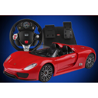 MZ美致 遥控汽车保时捷模型 1:14高档动车玩具漂移跑车赛车儿童玩具 遥控车颜色*