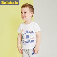 巴拉巴拉男童短袖t恤小童宝宝上衣童装夏儿童纯棉卡通T恤