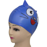 儿童游泳帽 儿童泳帽 男童泳帽 女童泳帽 安全硅胶