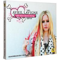 Avril艾薇儿 美丽坏东西the best damn thing CD+歌词本 正版专辑