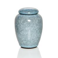 尚帝 茶叶罐陶瓷台湾冰裂纹茶具 冰裂釉茶叶罐 铁观音罐密封罐子 CYGT8029