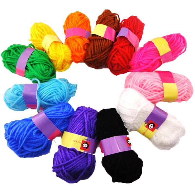 绒绒线袜子织法图解