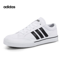 Adidas/阿迪达斯NEO学院风休闲运动板鞋帆布鞋AW5081