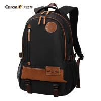 卡拉羊大容量双肩包旅行背包17寸电脑背包韩版潮包旅行背包CX5640