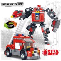 星钻积木积变战士全套爸爸去哪儿积木塑料拼装模型玩具儿童益智赛车汽车机器人