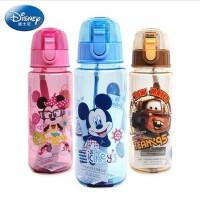 爆夏天水杯 迪士尼塑料水杯 米奇儿童小孩卡通水壶小学生水杯 防漏直饮杯无毒 723T