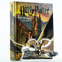 哈利波特立体书 英文原版 Harry Potter Pop up book 正版 哈利波特魔法 3D手工剪纸书