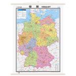 世界分国地图挂图——德国地图挂图(1170mm*860mm)