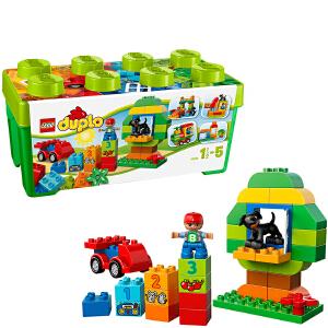 [当当自营]LEGO 乐高 duplo得宝系列 多合一趣味桶 积木拼插儿童益智玩具 10572