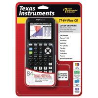 新款德州仪器TI-84 PLUS CE 彩屏图形绘图84ce计算器 SAT/AP考试
